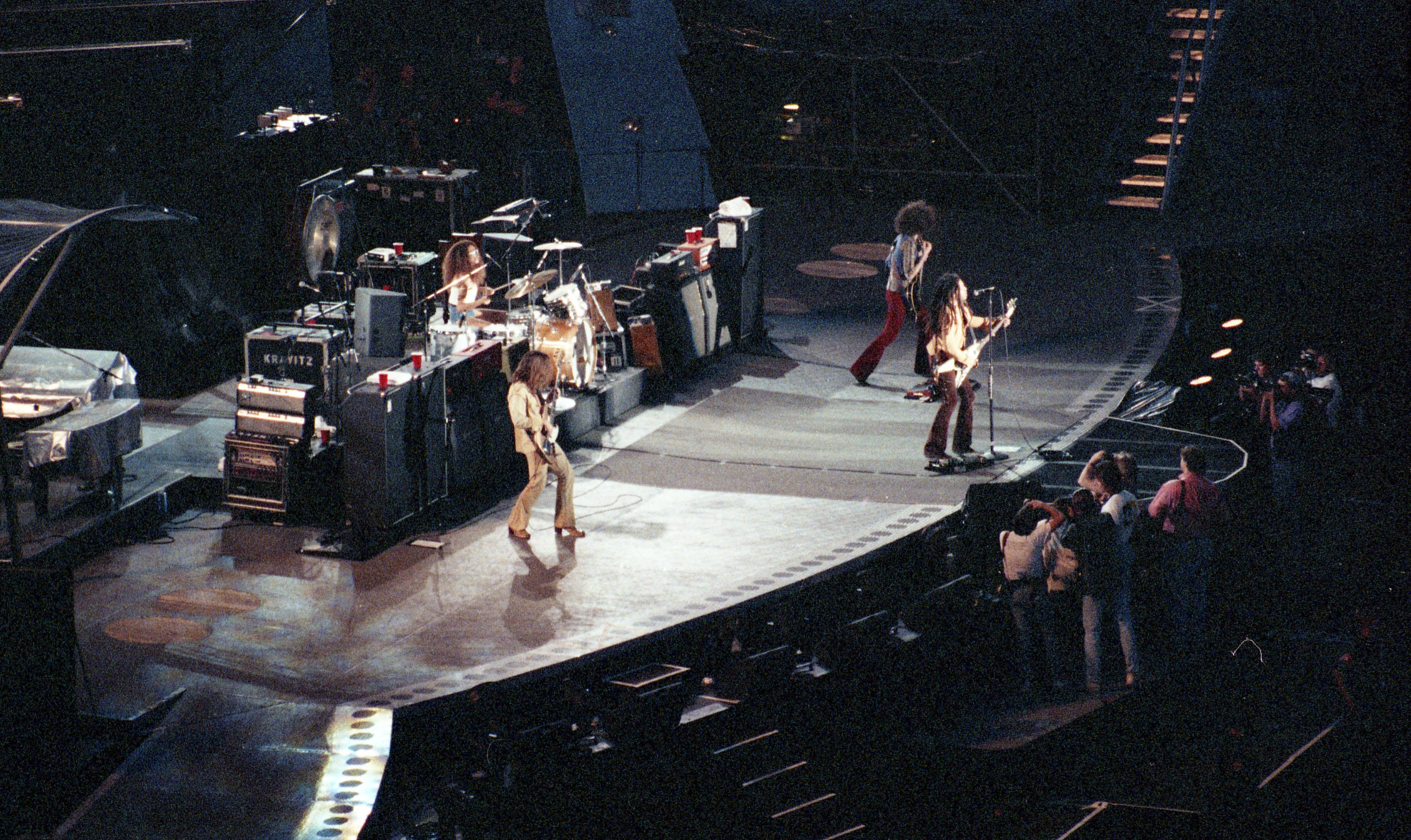 Lenny Kravitz and Band