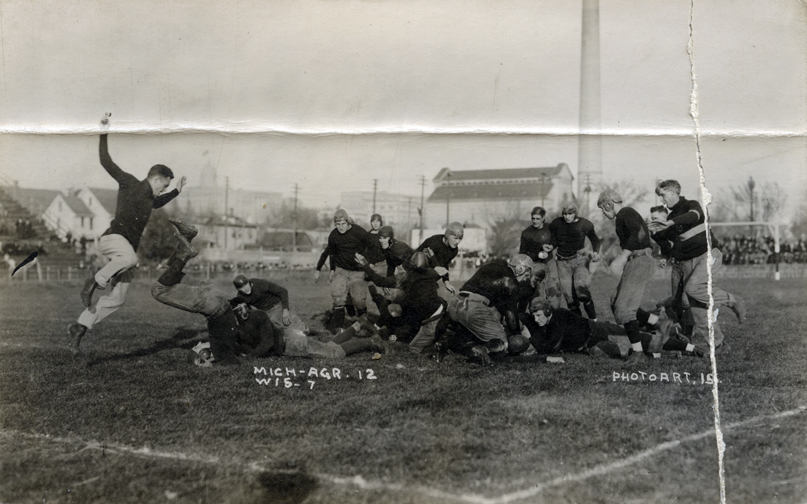M.A.C. vs. University of Wisconsin football game