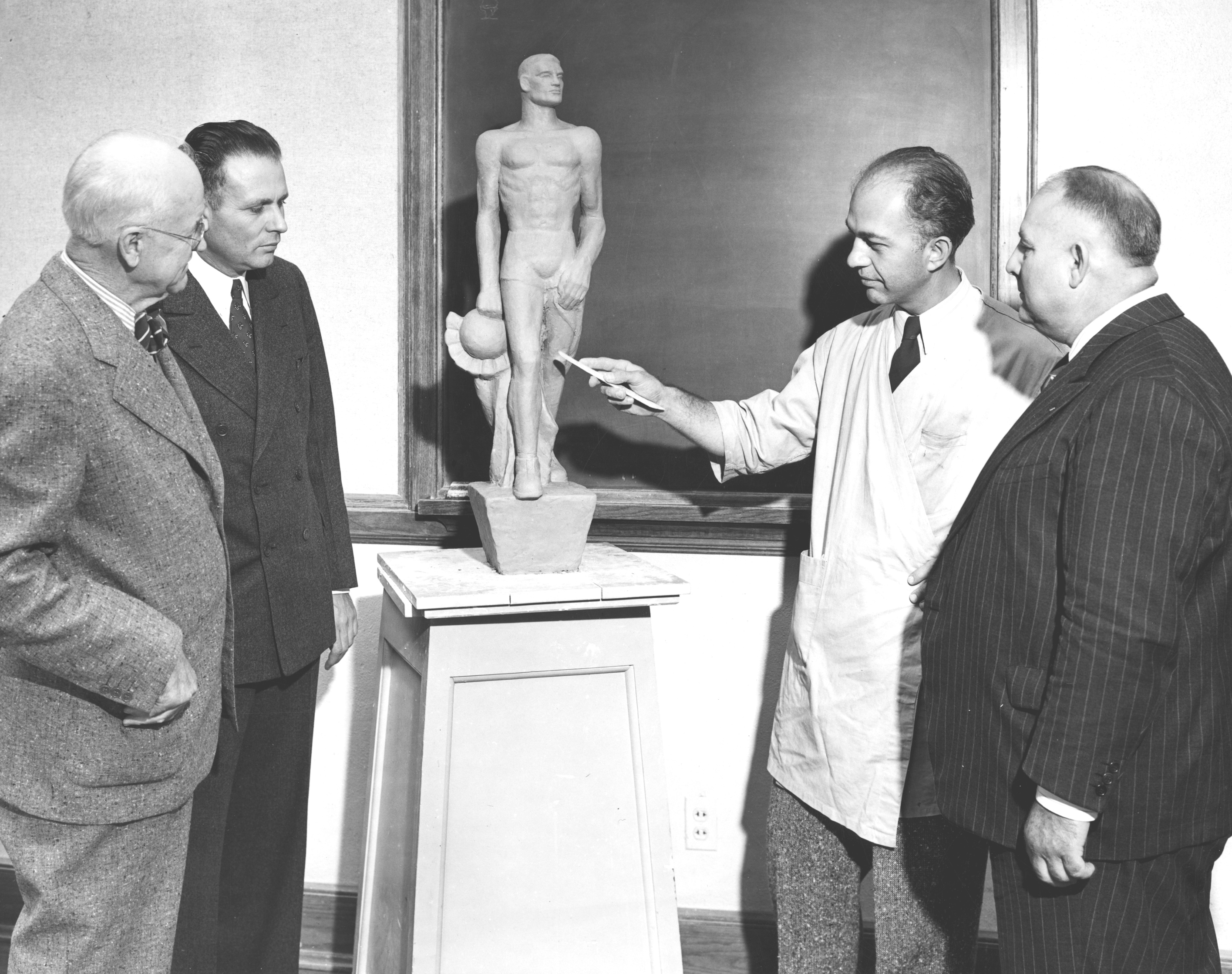 Sparty Model, Circa 1943