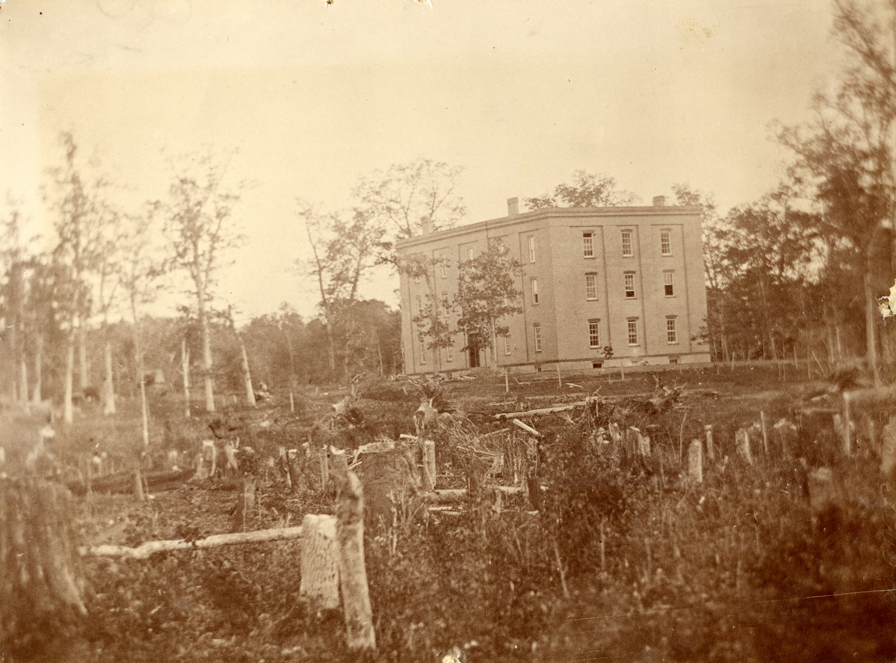 College Hall, 1857