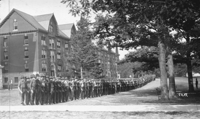 1918 SATC Students