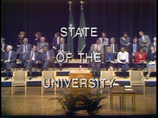 State of the University Address, 1989