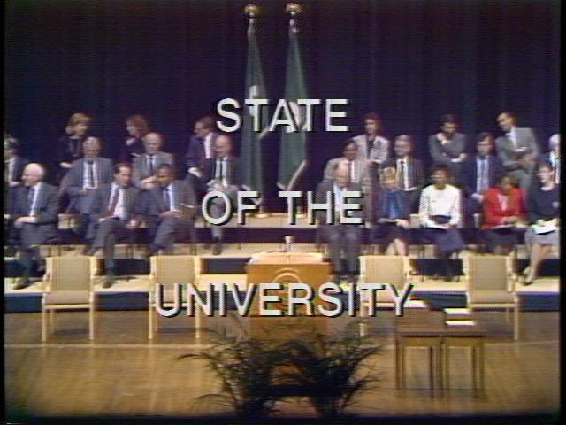 State of the University Address, 1989
