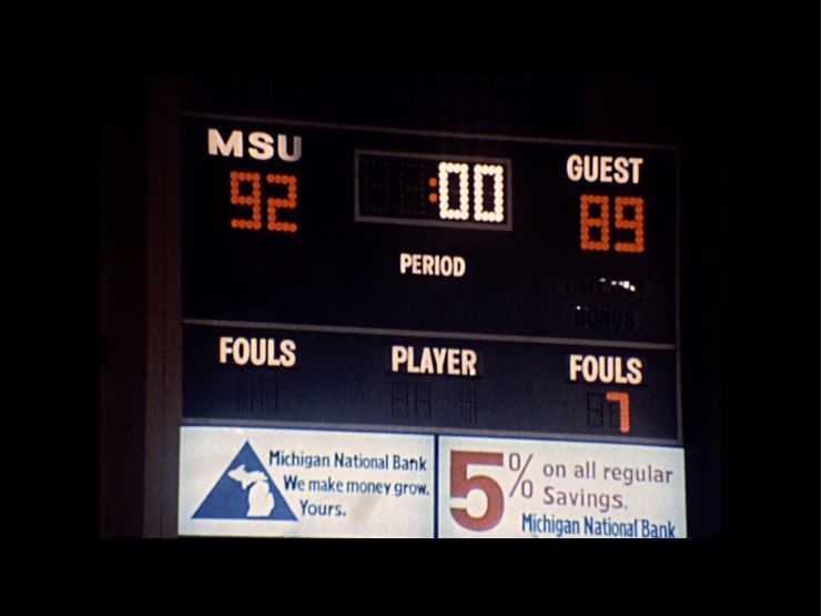 MSU Basketball vs. Cal State Fullerton, 1978 (clips)