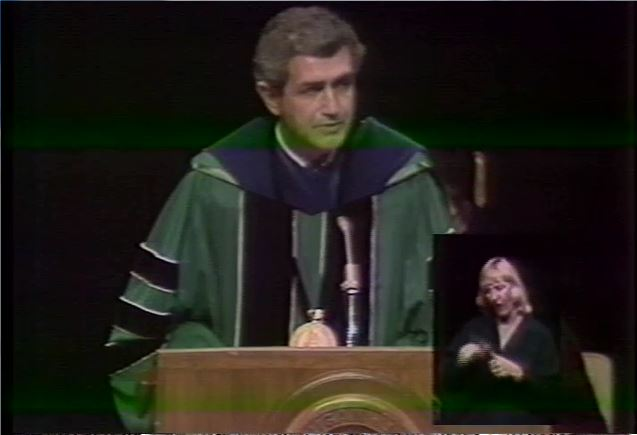Inauguration of the President: John DiBiaggio (Part 1)