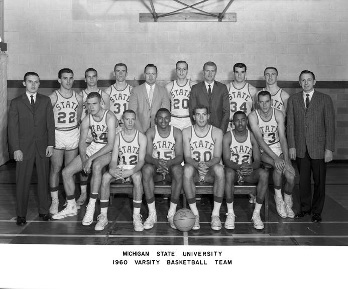 1960 Mens Varsity Basketball Team