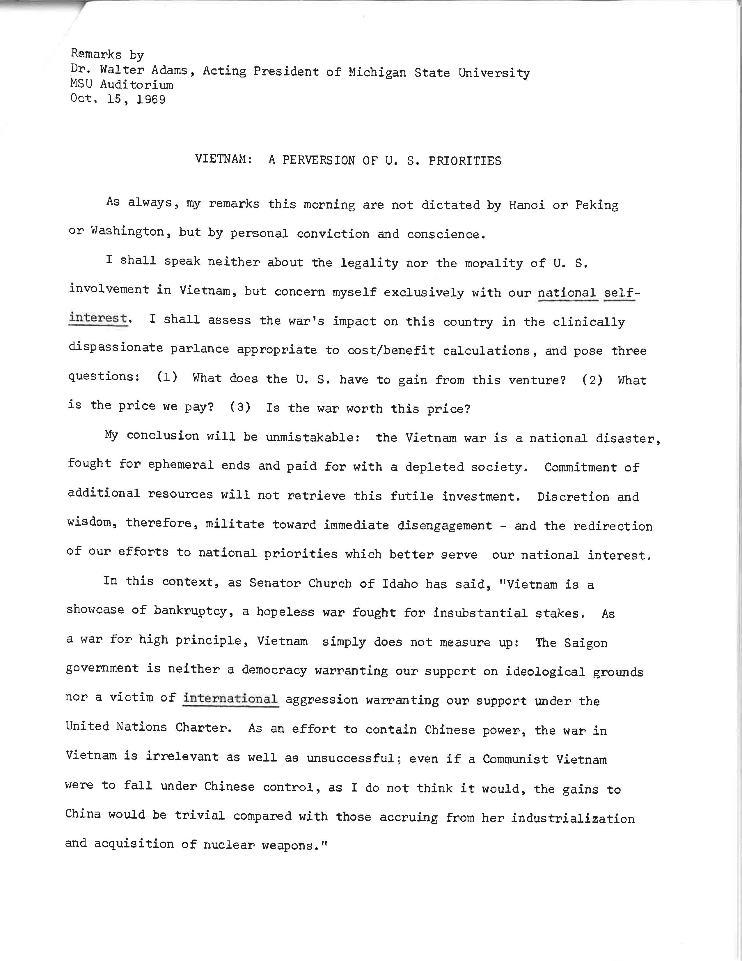 Walter Adams Remarks, Page 2