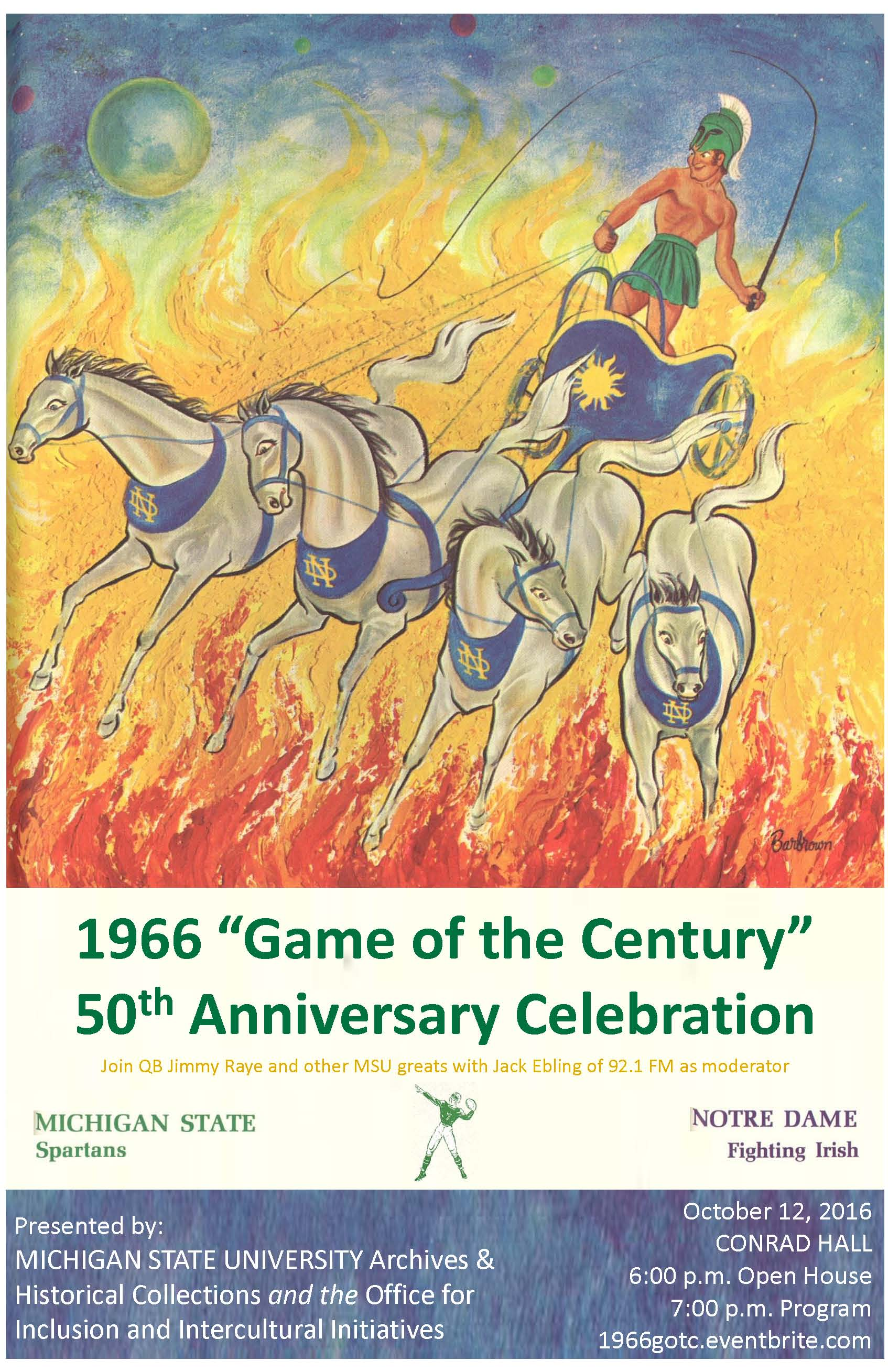 """50th Anniversary Celebration of the 1966 """"Game of the Century"""""""