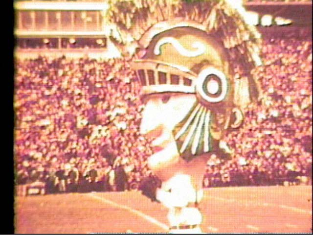Sparty, the MSU mascot, 1966