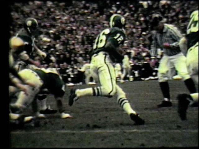 MSU Quarterback Jimmy Raye #16, 1966