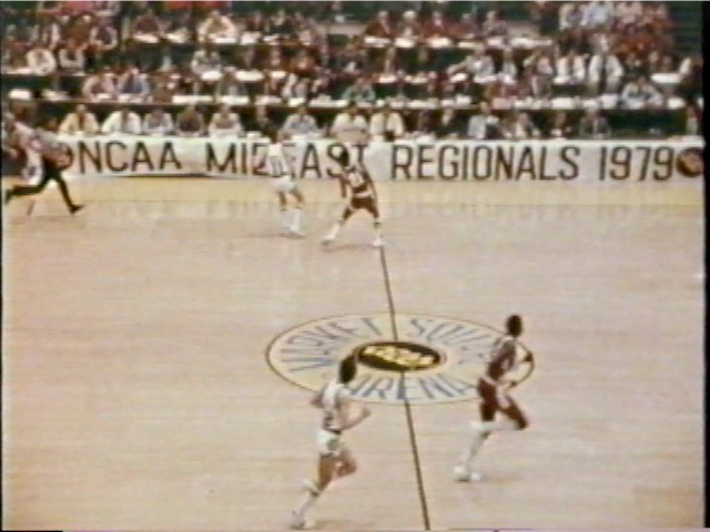 MSU Basketball vs. LSU, NCAA Men's Division I Regional Semifinals, 1979