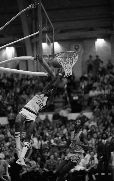 Greg Kelser Goes To The Basket