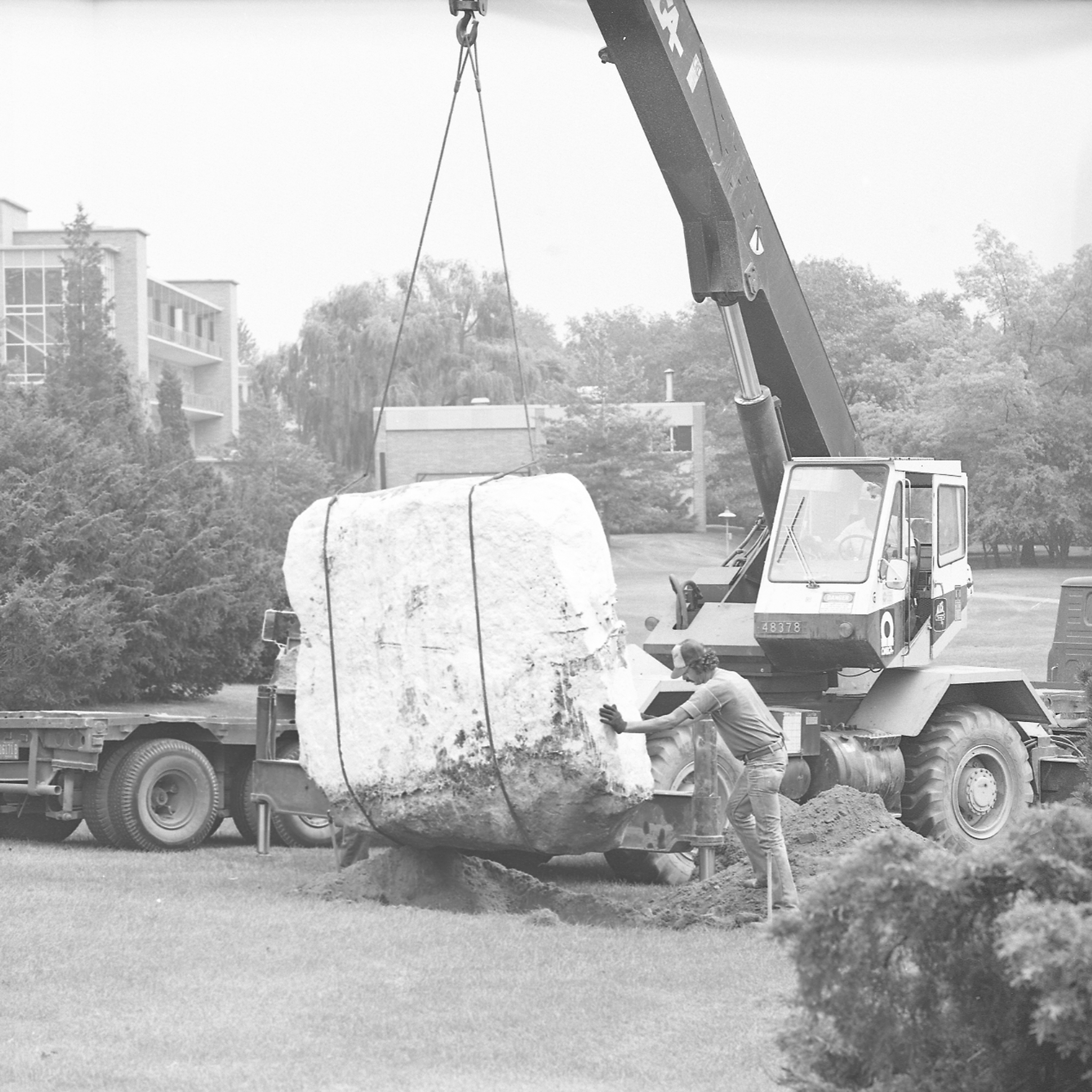 Relocating the Rock, September 17, 1985