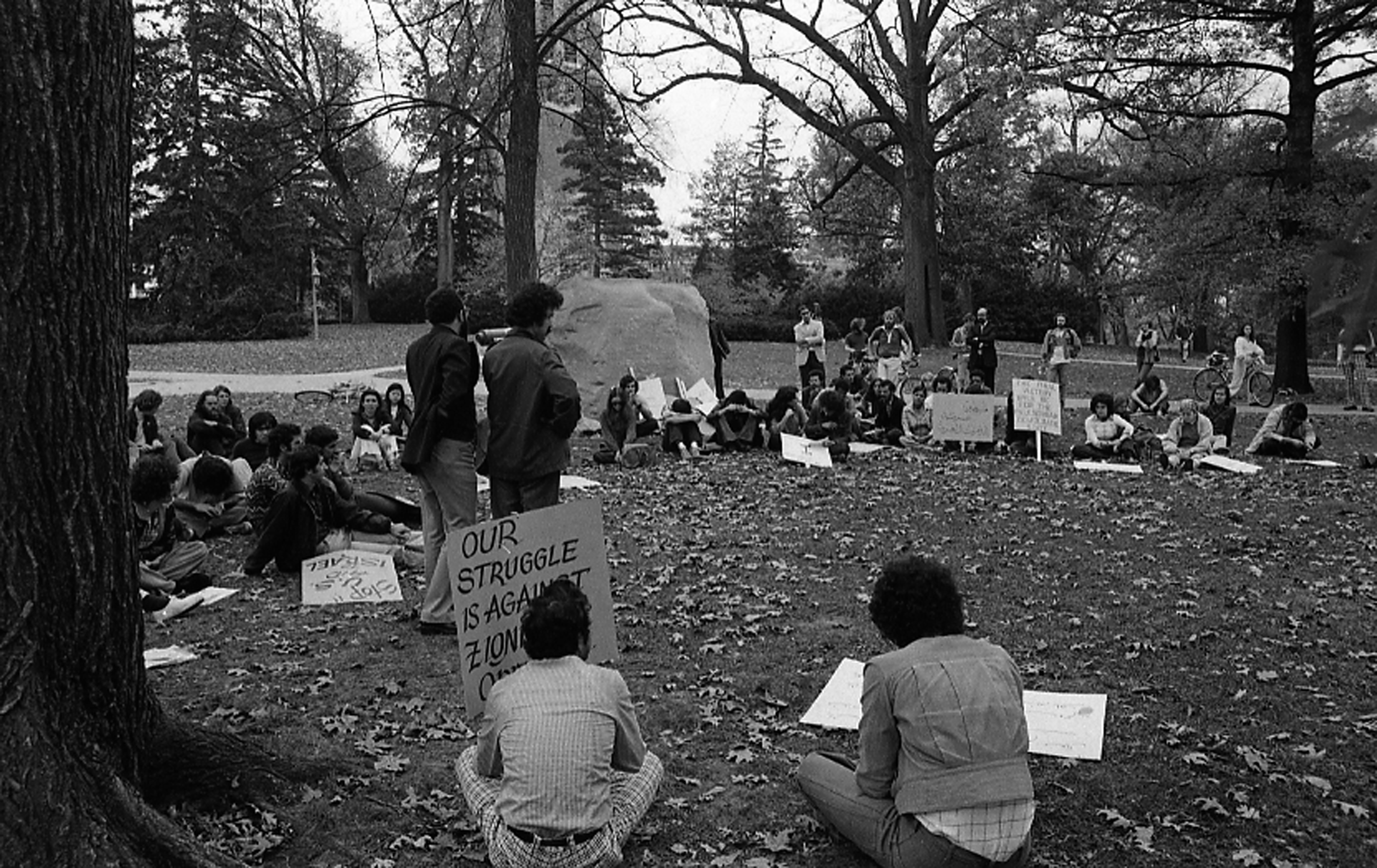 Protest at the Rock, October 26, 1975