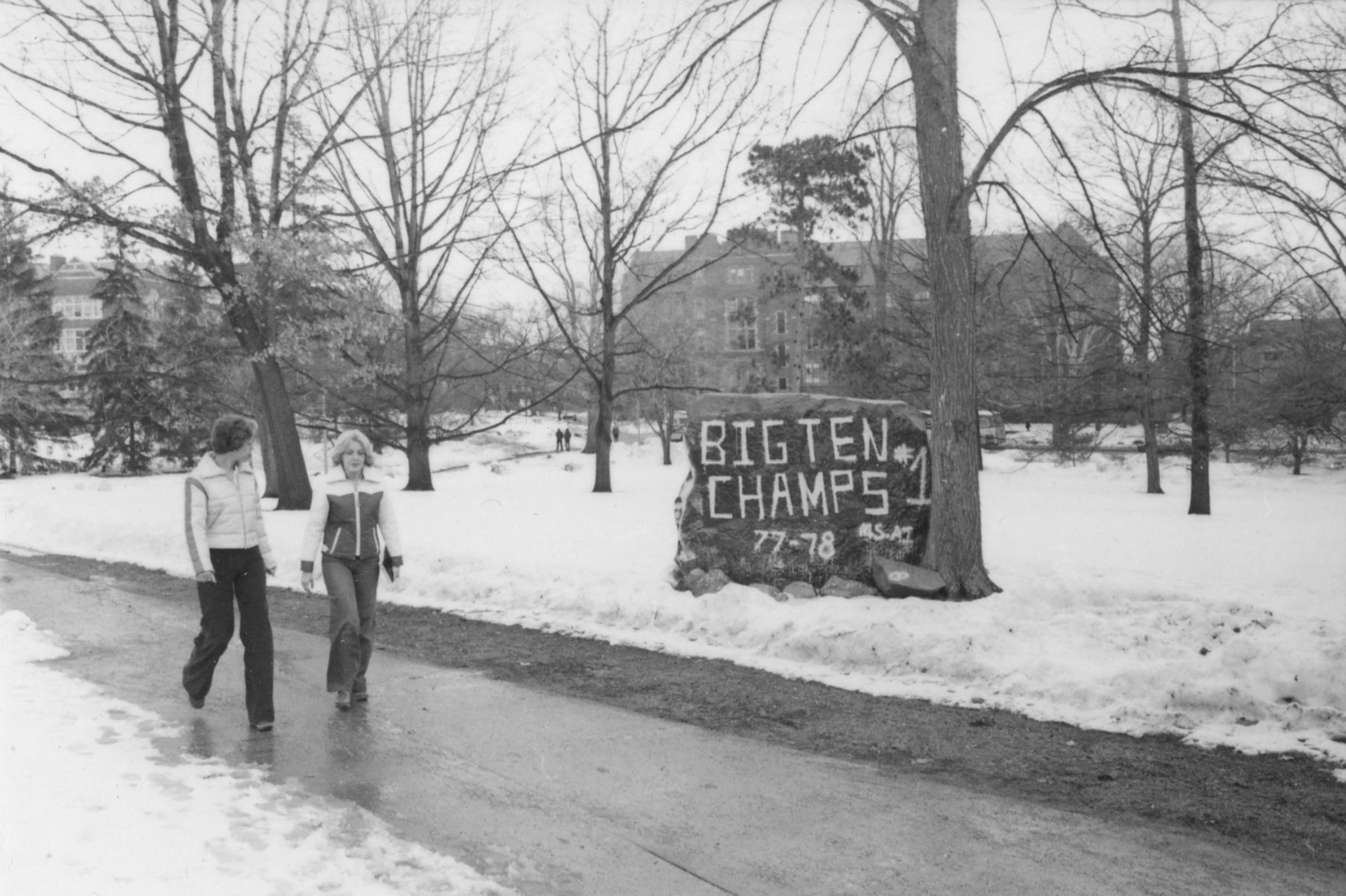 The Rock and Big Ten, circa 1978