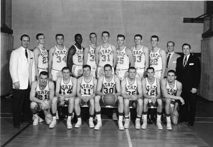 1956-57 Basketball Team Photo