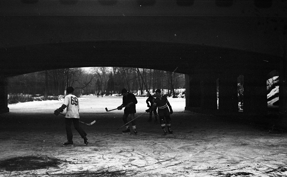 Hockey on the Red Cedar