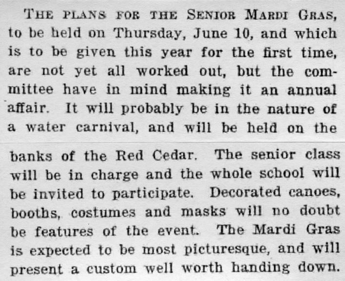The M.A.C. Record; vol.25, no.30; May 7, 1920