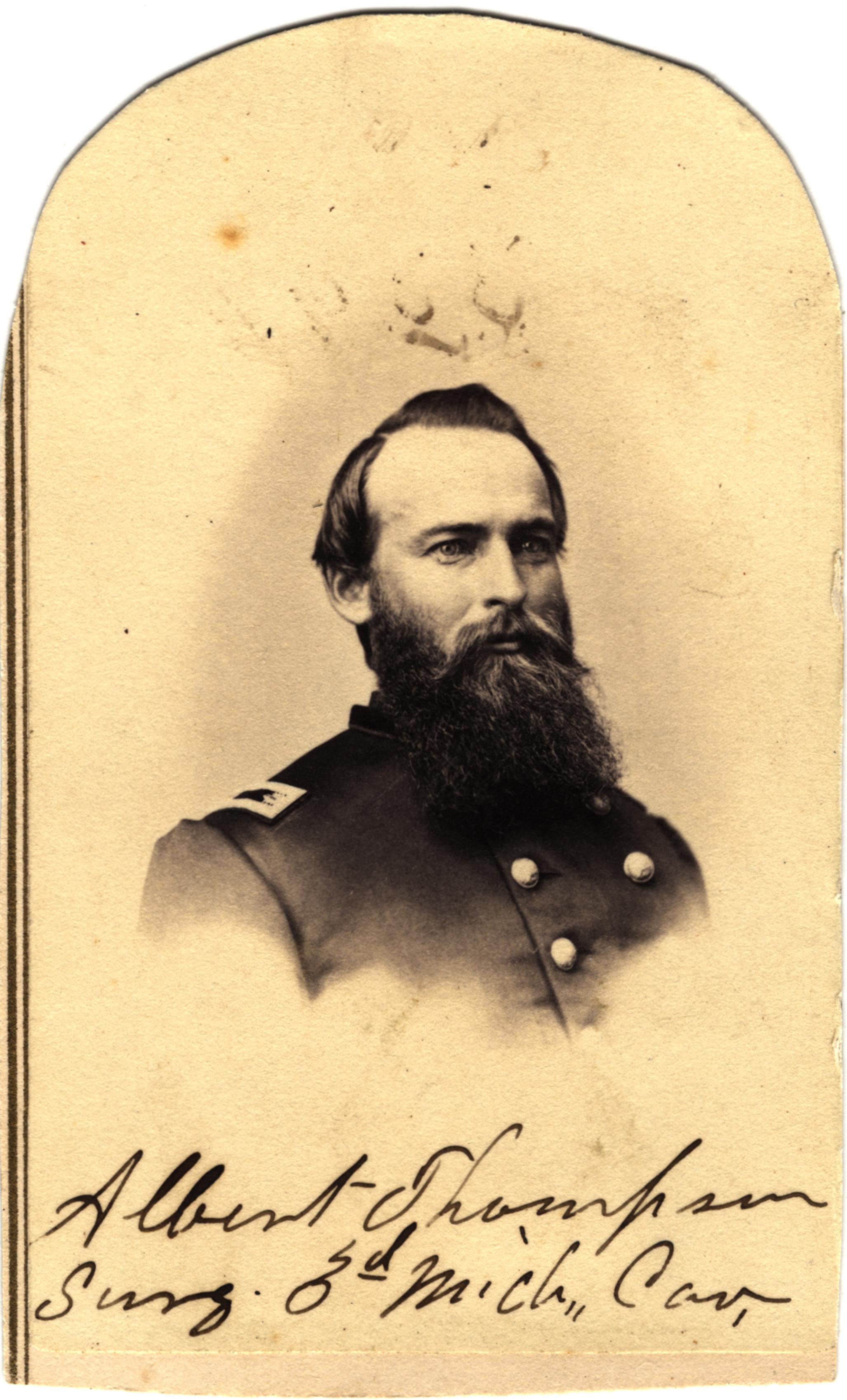 Albert H. Thompson, circa 1860s