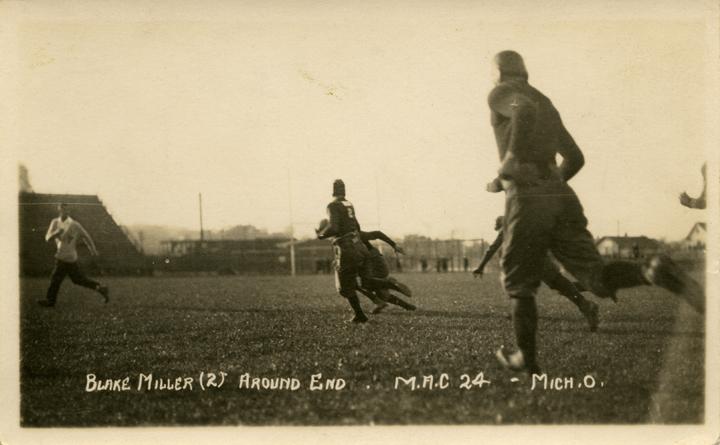 M.A.C. vs. University of Michigan football game, ca. 1915