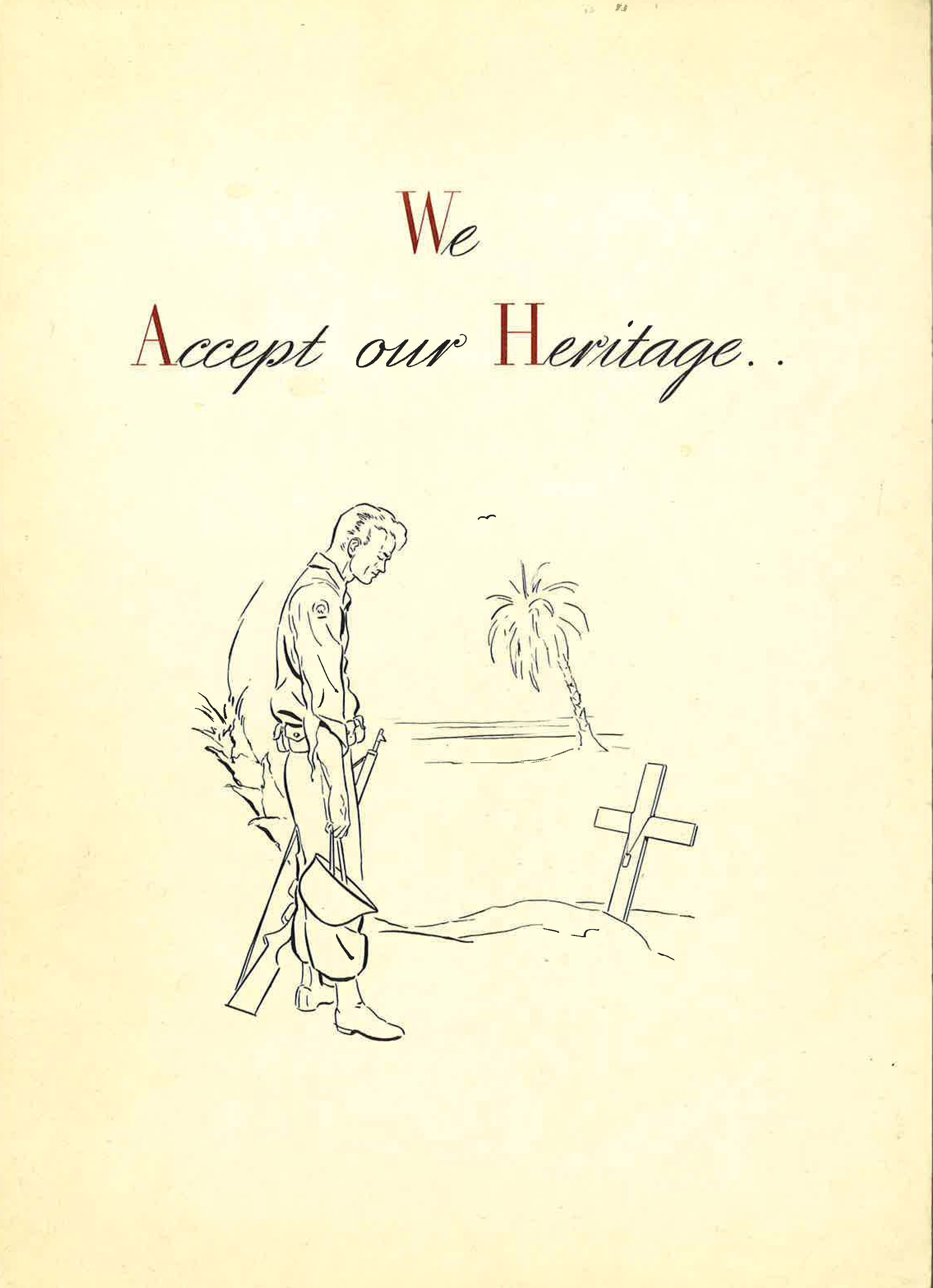 We Accept Our Heritage..Booklet, circa 1947