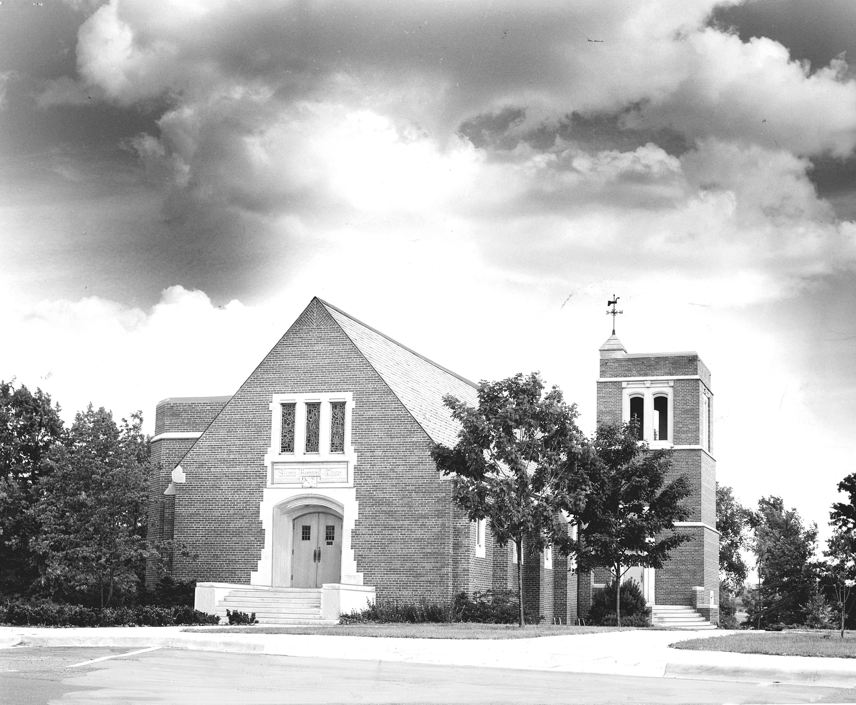Alumni Memorial Chapel, ca. 1955