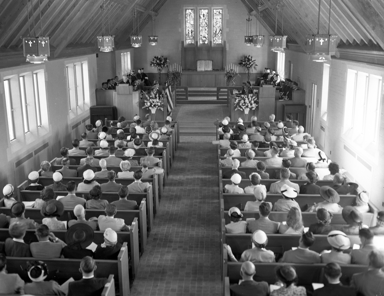 Dedication of the Alumni Memorial Chapel; June 7, 1952