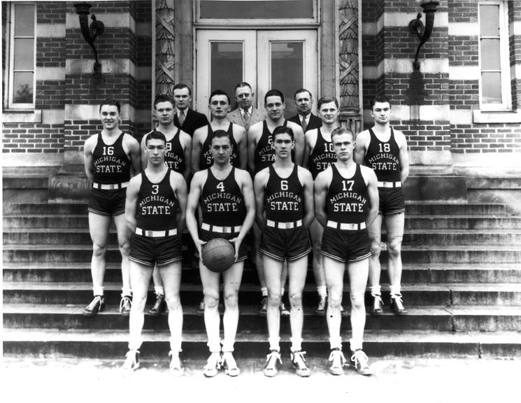 Basketball Team, circa 1936