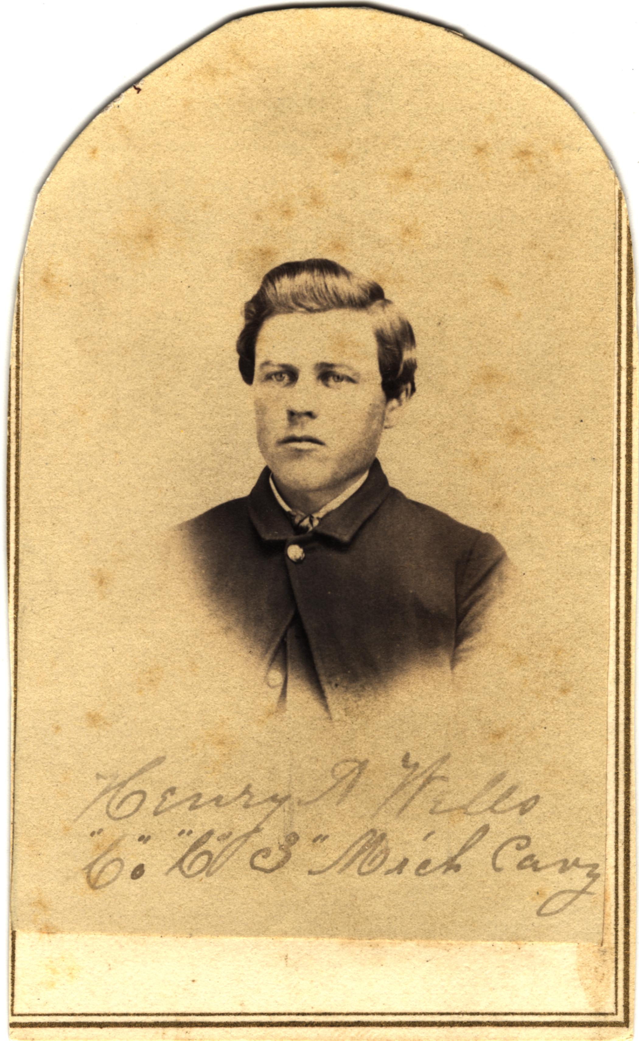 Henry A. Wells, circa 1860s