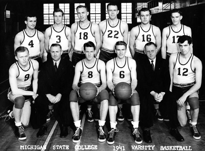 1941 Varsity Basketball Team