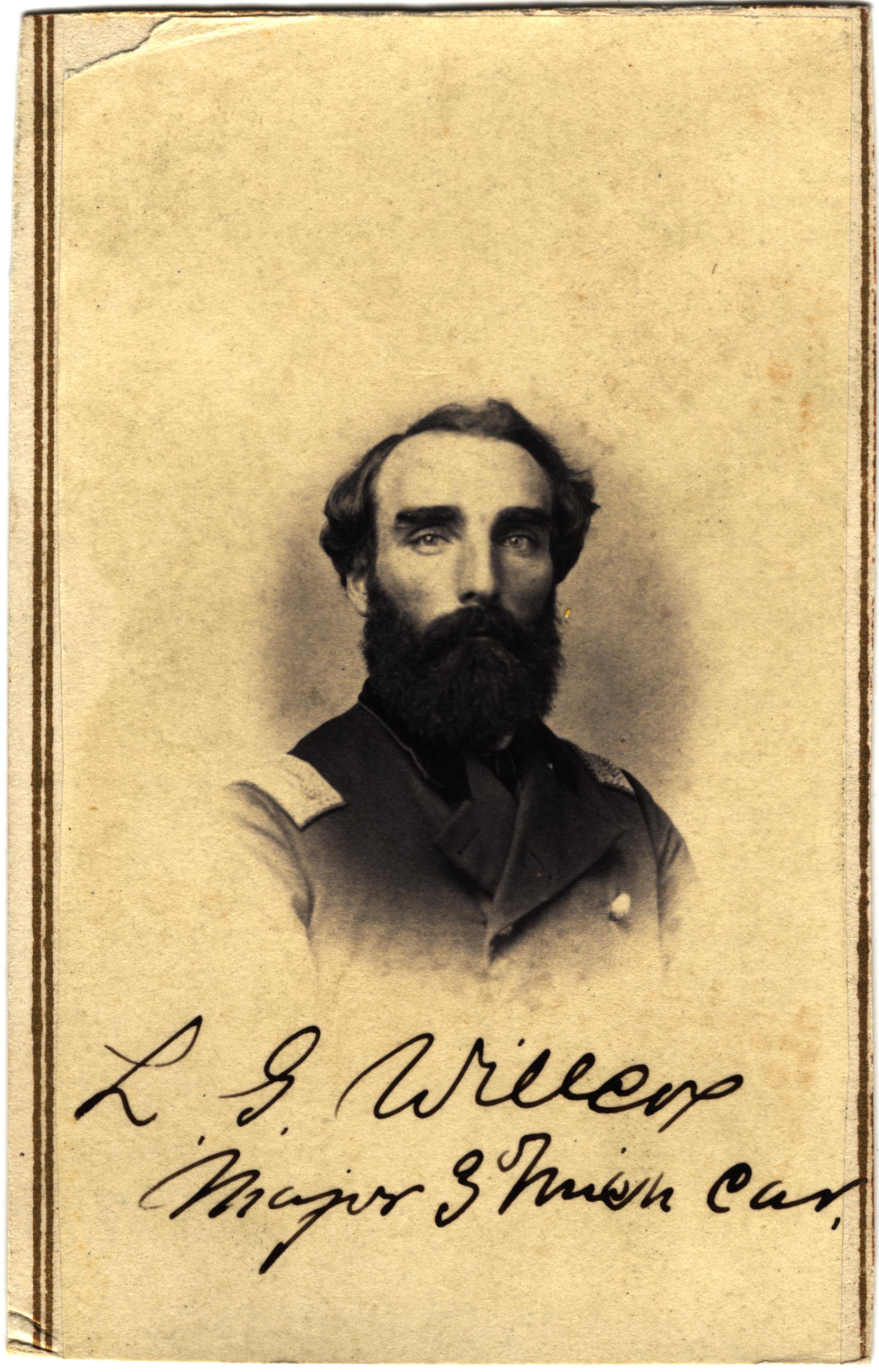 Lyman G. Willcox, circa 1860s