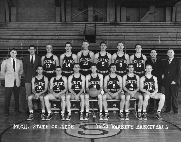 1950 Varsity Basketball Team