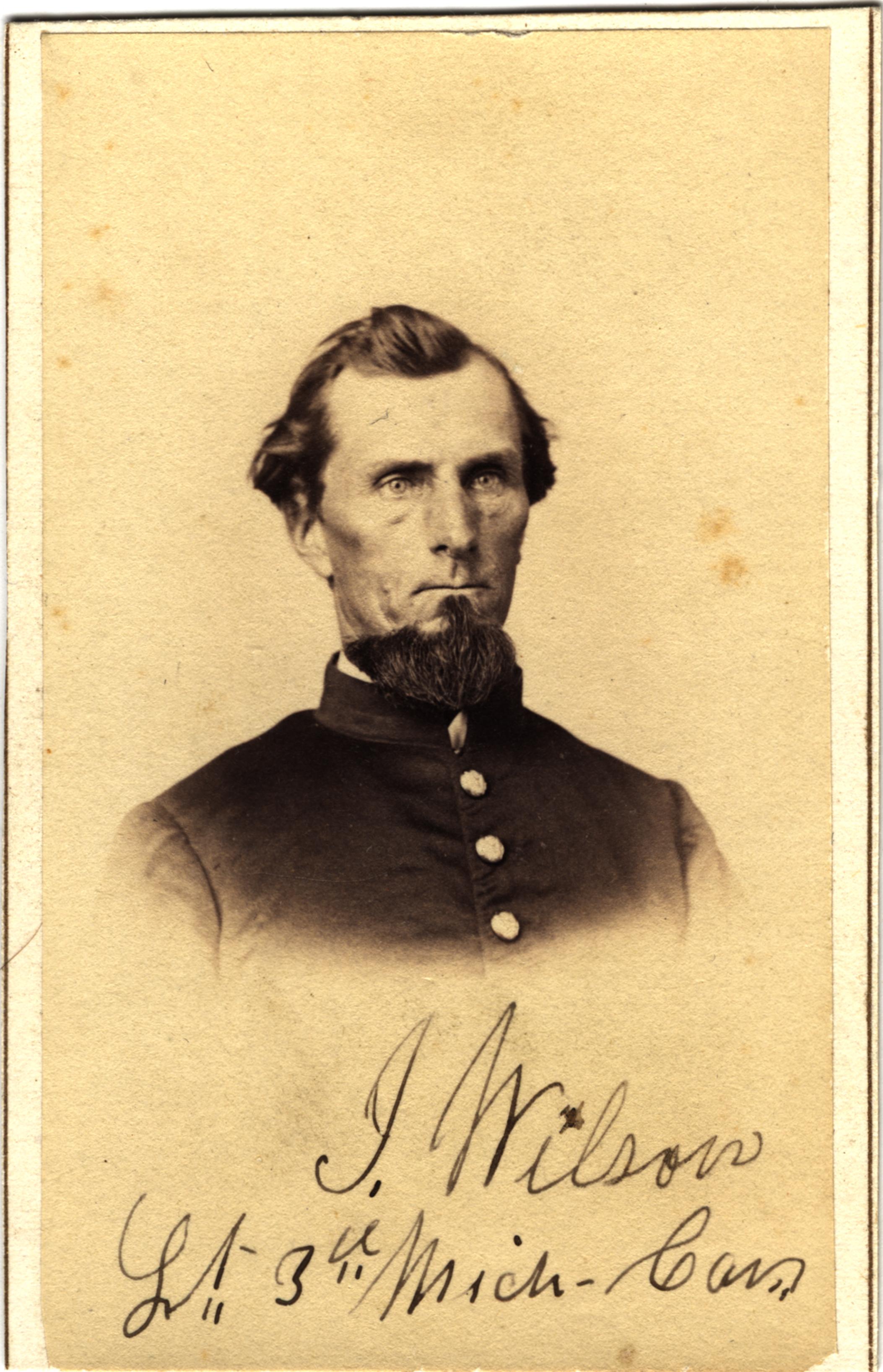 Isaac Wilson, circa 1860s