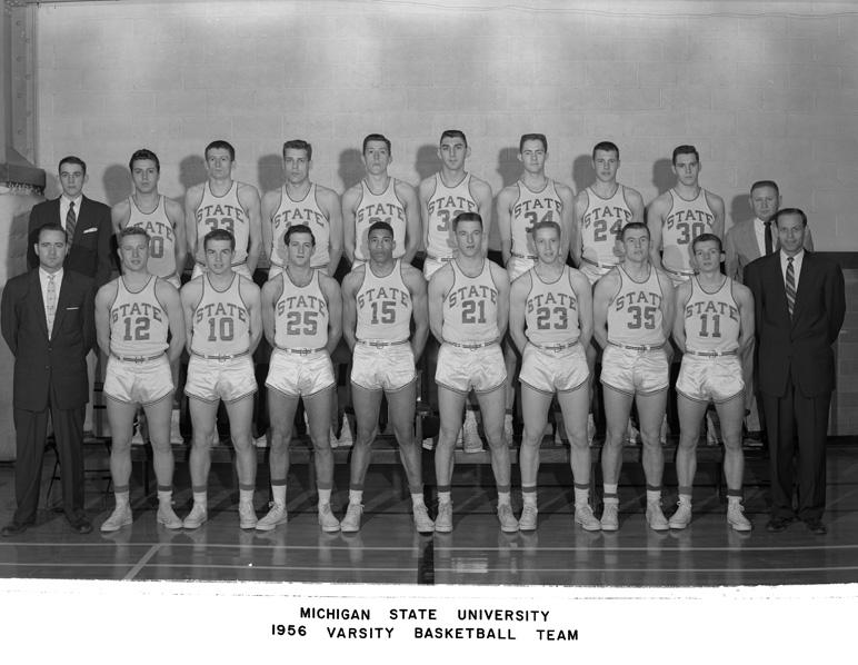 1956 Varsity Basketball Team