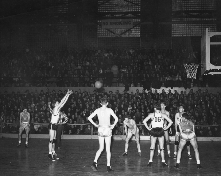 Free Throw in a Basketball Game