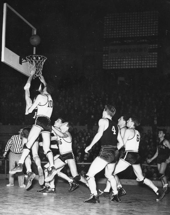 Basketball Game between MSC and Michigan