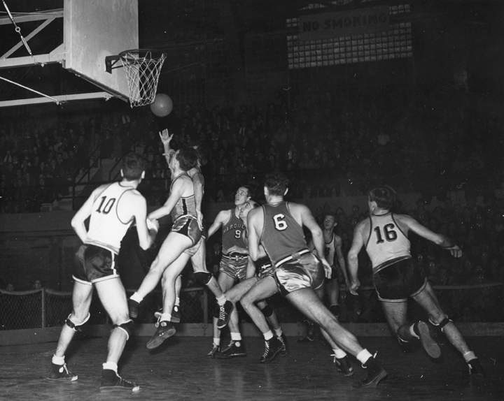 Basketball Game Against Marquette