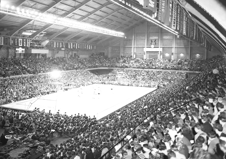 Crowd at Notre Dame Basketball Game