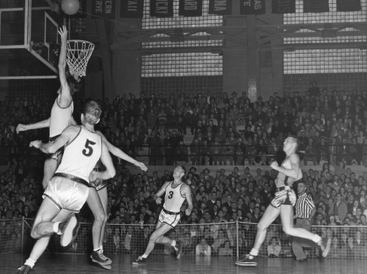 Marquette versus Michigan State College Basketball Game