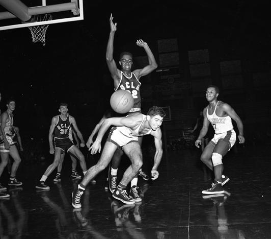 MSU vs Kanas State Basketball Game, December 23, 1952