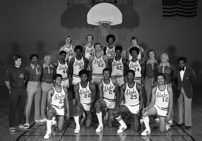 1975-1976 Basketball Team