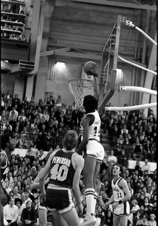 Ron Charles Going up for the Dunk, 1979