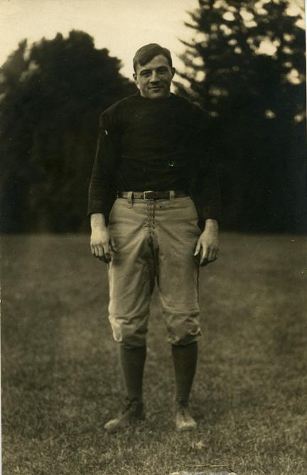 M.A.C. football player