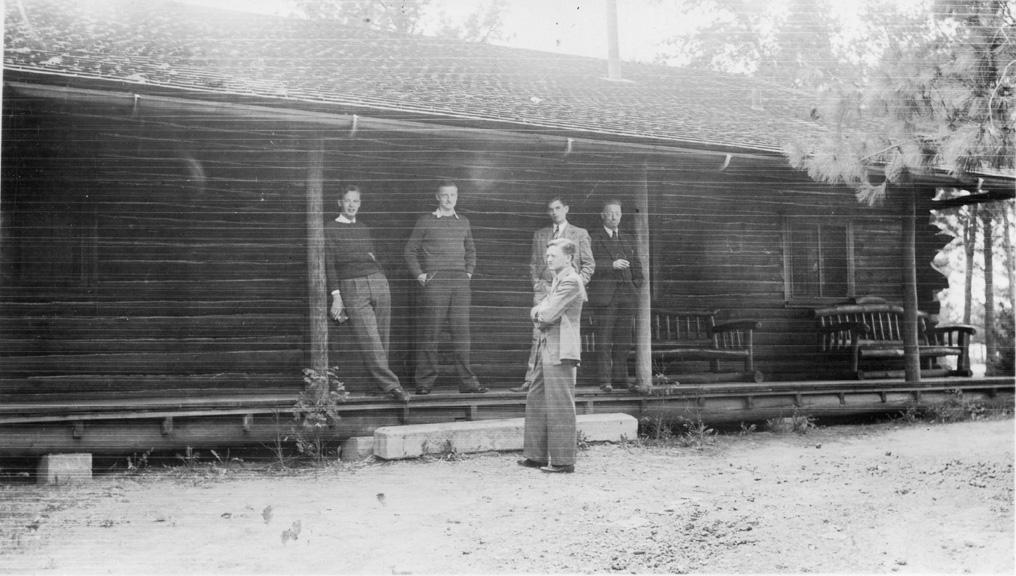 Forestry Cabin, circa 1930