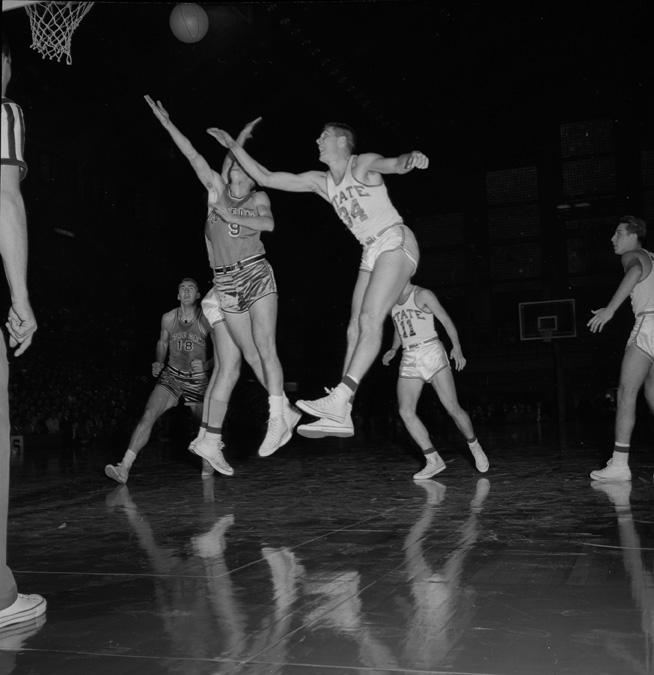 MSU vs. Notre Dame Basketball Game, December 22, 1955