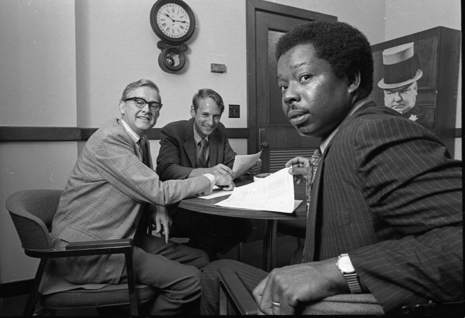 Ombudsmen in Linton Hall, 1970