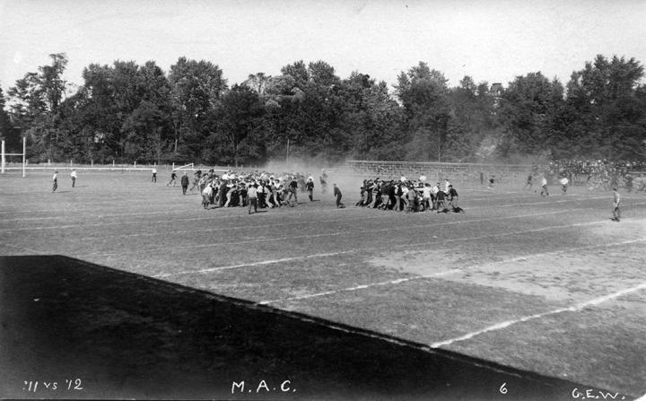 Intramural sports, Class of 1911 vs. Class of 1912