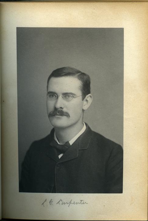 Louis G. Carpenter, 1886