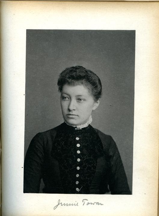Jennie A. Towar, 1886