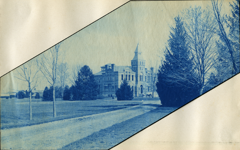06.  Linton Hall, circa 1888.
